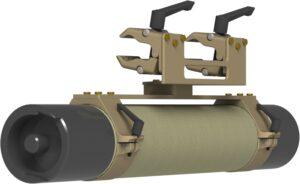 Podwojna-Klamra Na NoszeDrazkowe NATO STANAG 2040 Zintegrowane Systemy Montazowe