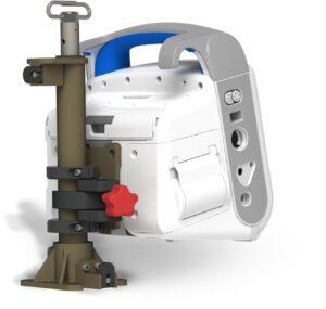 UchwytPionowy Do Defibrylatora ZOLL X Series LubKardiomonitora-ZOLL Propaq MD Zintegrowane Systemy-Montazowe