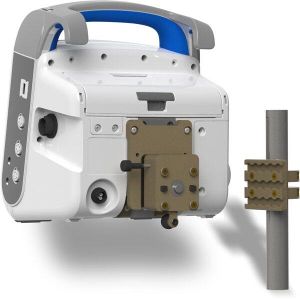 Zaczep Rurowy Do Defibrylatora-ZOLL X Series-Lub Kardiomonitora ZOLL Propaq MD Zintegrowane Systemy Montazowe