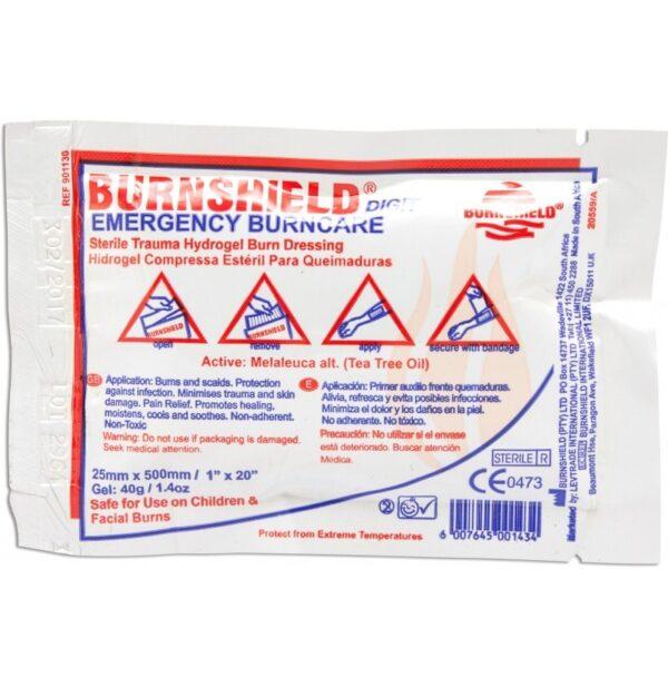 Hydrożele na oparzenia Burnshield